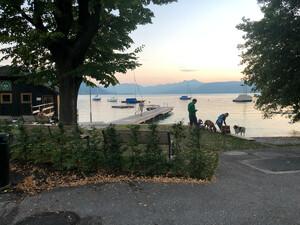 Badeplatz Kinderbad Seewalchen Bild 2
