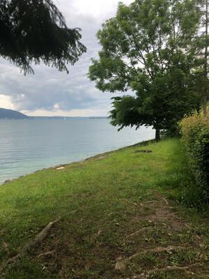 Badeplatz Seezugang Schachmahd Bild 2