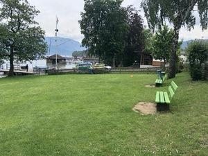 Badeplatz Seezugang Attersee Bild 2
