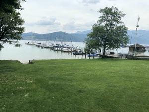 Badeplatz Seezugang Attersee Bild 7