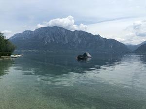 Badeplatz Seezugang Unterach Bild 8