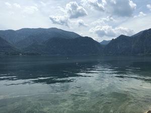 Badeplatz Seezugang Unterach Bild 12