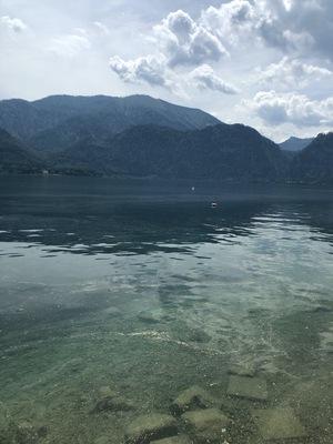 Badeplatz Seezugang Unterach Bild 10
