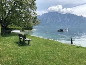 Badeplatz Seezugang Unterach Bild 5