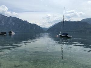Badeplatz Seezugang Unterach Bild 3