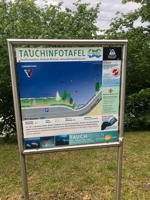 Badeplatz Tauchplatz & Seezugang Schachmad Bild 1